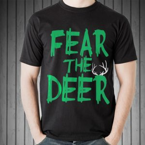 Fear The Deer Milwaukee Basketball Bucks shirt 1