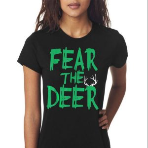Fear The Deer Milwaukee Basketball Bucks shirt 2