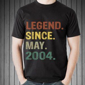Legend Since May 2004 shirt
