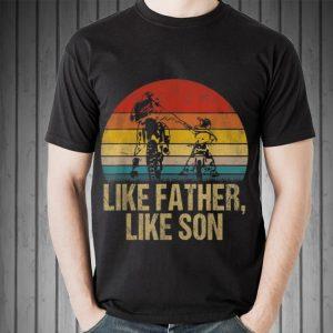 Like Father Like Son Motocross Sunset shirt