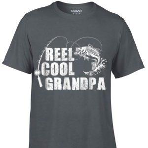 Reel Cool Grandpa Fishing Father day shirt