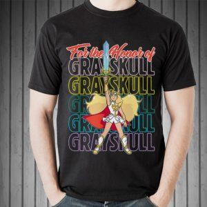 She-Ra and The Princess of Power Grayskull shirt