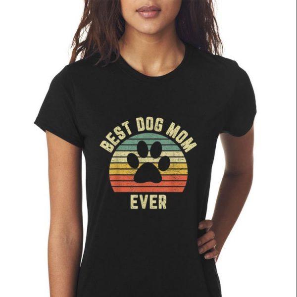 Vintage Dog Mom Mother day Retro shirt