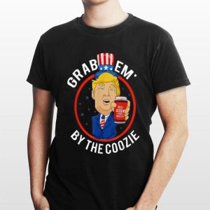 4th Of July Donal Trump Grabem By The Coozie Independence Day shirt