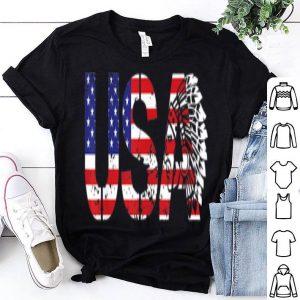 4th Of July Native Americans Patriotic USA shirt