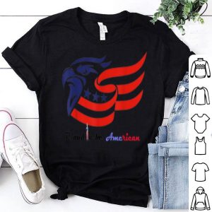 4th of july American flag uncle sam eagle shirt