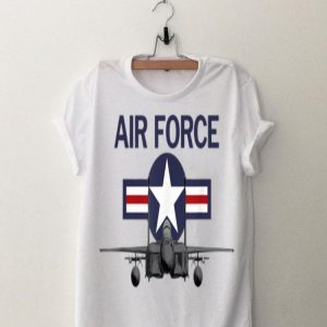 Air Force Vintage Roundel With F15 Jet shirt