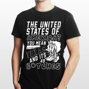 Awesome Texas The United States Of America shirt