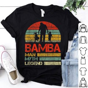 Bamba Man Myth Legend Vintage Father Day shirt