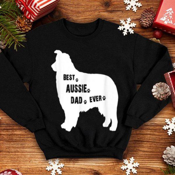 Best Aussie Dog Dad Ever Father Day shirt
