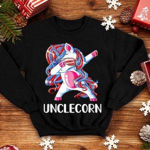 Dabbing Unicorn Unclecorn 4th Of July Fathers Day shirt
