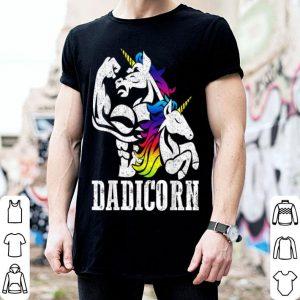 Dadicorn Dad Unicorn Fathers Day shirt