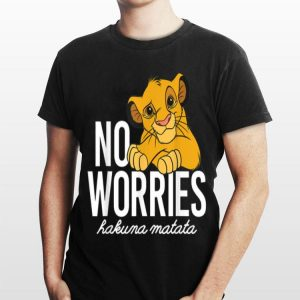 Disney Lion King Classic No Worries Simba shirt