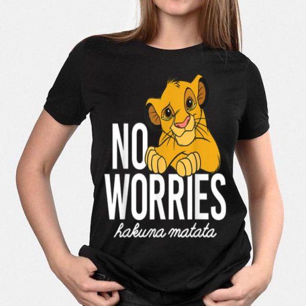 Disney Lion King Classic No Worries Simba shirt