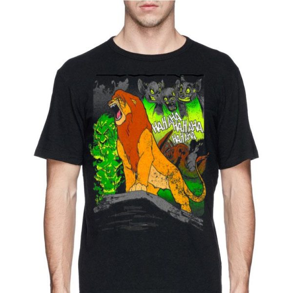 Disney Lion King Distressed Simba The Hero shirt