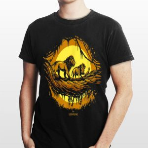 Disney Lion King Live Action Simba Timon Pumbaa Walk shirt