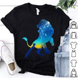 Disney Lion King Simba Sky Silhouette shirt