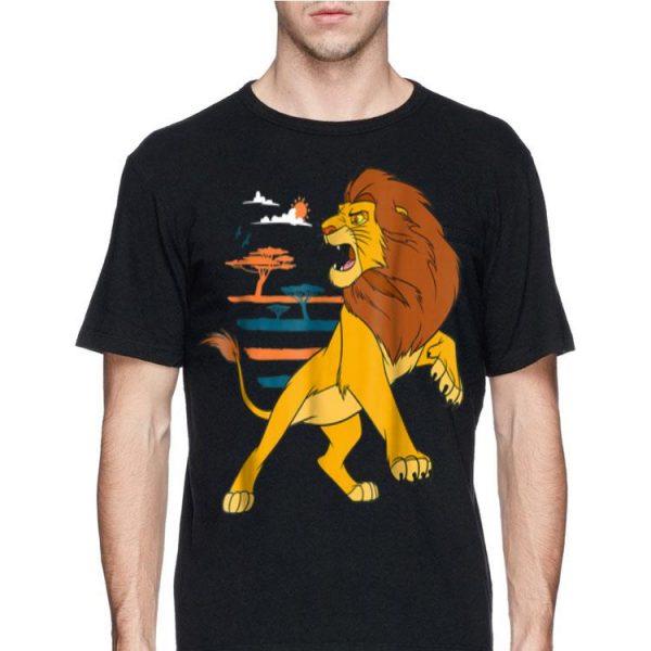 Disney The Lion King Adult Simba Roaring Pride Lands shirt