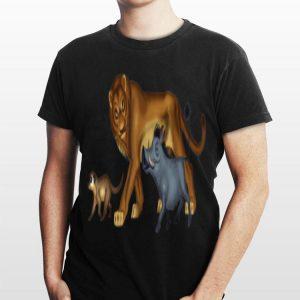 Disney The Lion King Simba Timon Pumbaa Live Action shirt