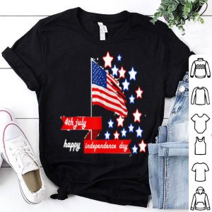 Happy Independence Day American Flag shirt