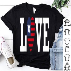 July 4th Patriotic American Flag shirt