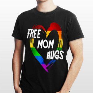 LGBT Pride Free Mom Hugsheart LGBT Flag Outfit shirt