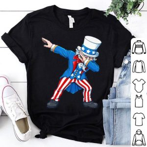 Patriotic 4th Fourth Of July Dabbing Uncle Sam Usa shirt