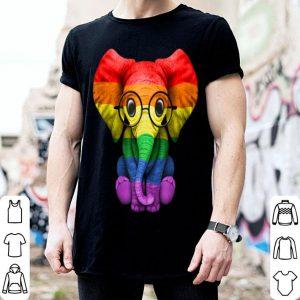 Pride Elephant LGBT Lesbian Gay shirt