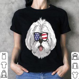 Shih Tzu Dog Patriotic Usa 4th Of July American shirt