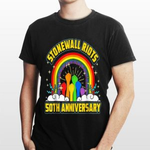 The Stonewall Riots 50th Anniversary Lgbtq Gay Pride shirt