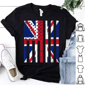 United Kingdom American Flag For New Us Citizen shirt