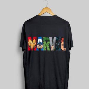 Marvel Logo Avengers Super Heroes shirt