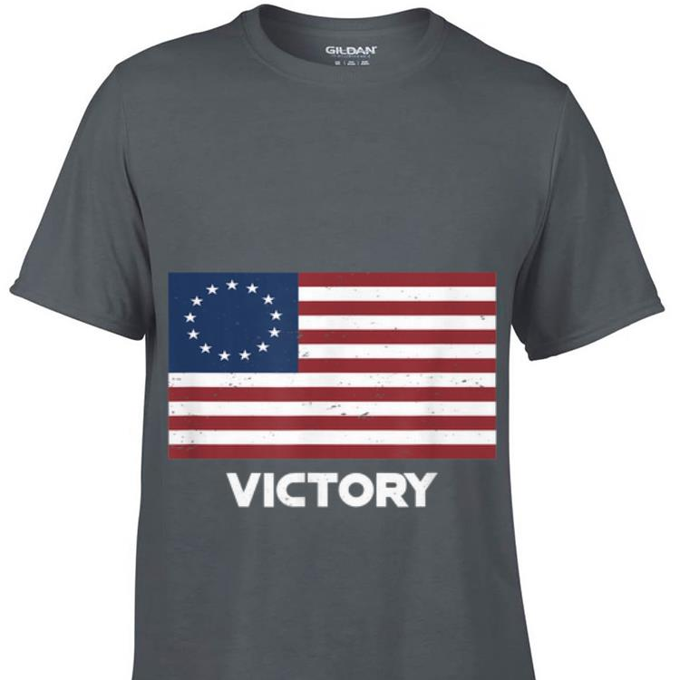 13 Star Betsy Ross Flag Victory For 4th Of July Sweater 1 - 13 Star Betsy Ross Flag Victory For 4th Of July Sweater