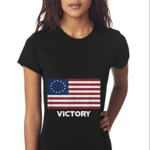 13 Star Betsy Ross Flag Victory For 4th Of July Sweater 2