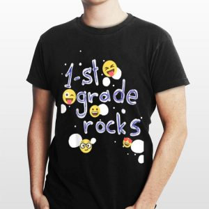 1St Grade Rocks First Grade Back To School shirt