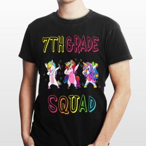 7th Grade Squad Team 7th Grade Teacher Back To School shirt