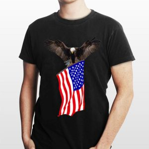 American Flag And American Eagle shirt