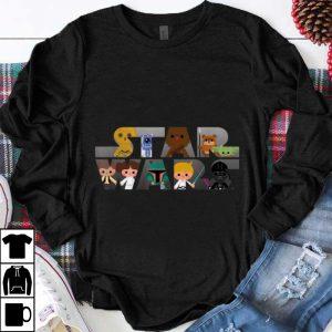Awesome Star Wars Logo Kawaii Multi Character shirt