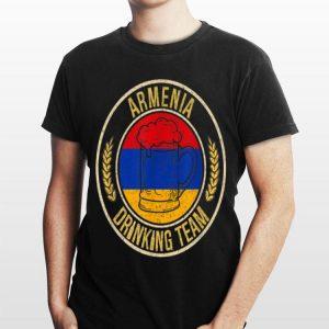 Beer Armenia Drinking Team Casual shirt