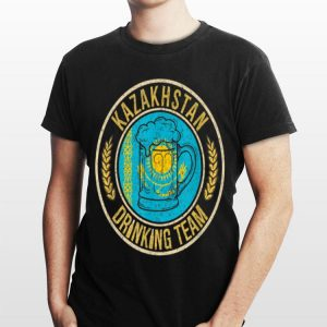 Beer Kazakhstan Drinking Team shirt