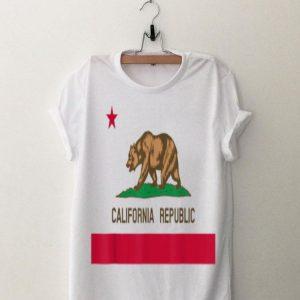 California Republic Flag Patiotic State Travel Usa shirt