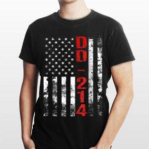 Dd 214 Us Alumni American Flag Vintage shirt