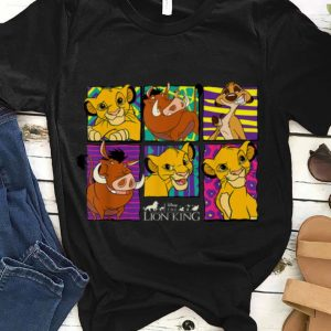 Disney Lion King Classic Retro Montage guy tee