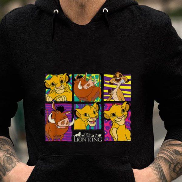 Disney Lion King Classic Retro Montage guy tee