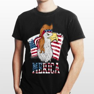 Eagle Merica American Flag 4Th Of July shirt