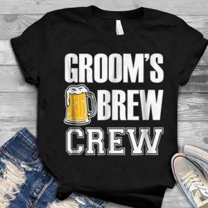 Groom's Brew Crew Beers Youth tee