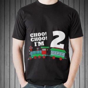 I'm Two Train 2nd Birthday sweater