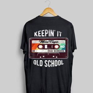 Keep In It Old School Hip Hop 80s 90s Mixtape Retro Vintage shirt