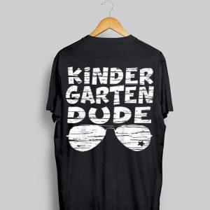 Kindergarten Dude Cool Shades First Day Of School Boys shirt