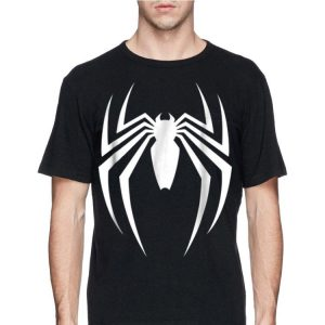 Marvel Spider Man Game Logo Graphic shirt